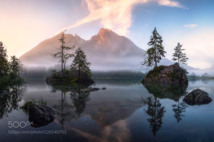 My Favourite Lake (Daniel F. / Rosenheim / Germany) #NIKON D610 #landscape #photo #nature