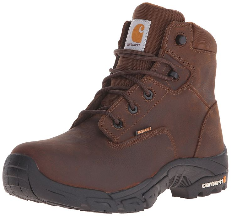 Carhartt Men's 6 Inch Waterproof Soft Toe Work Hiker * Startling review available here  : Carhartt Boots