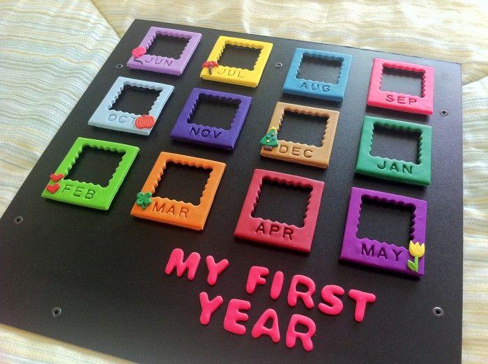 knutselen met kinderen - leuk idee voor eerste verjaardag