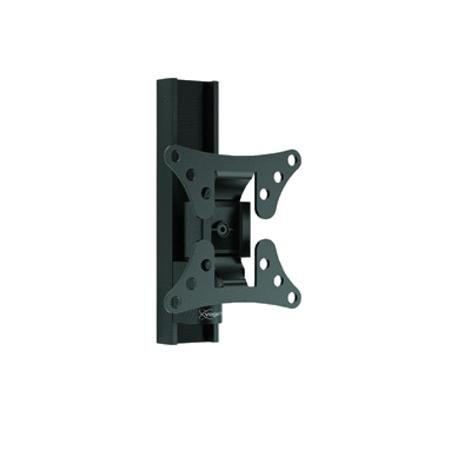 Vogels WALL 1020 Black  — 2969 руб. —  Настенный кронштейн WALL 1020 обеспечит Вам оптимальный просмотр телевизора с плоским экраном. Он идеально подходит для крепления небольшого телевизора в детской, кухне или рабочем кабинете. Этот настенный кронштейн черного цвета позволяет поворачивать телевизор на угол до 60 градусов (30 градусов влево и 30 градусов вправо) и наклонять его вперед и назад на угол до 10 градусов для выбора оптимального положения при просмотре.Теперь Вы можете вместить…