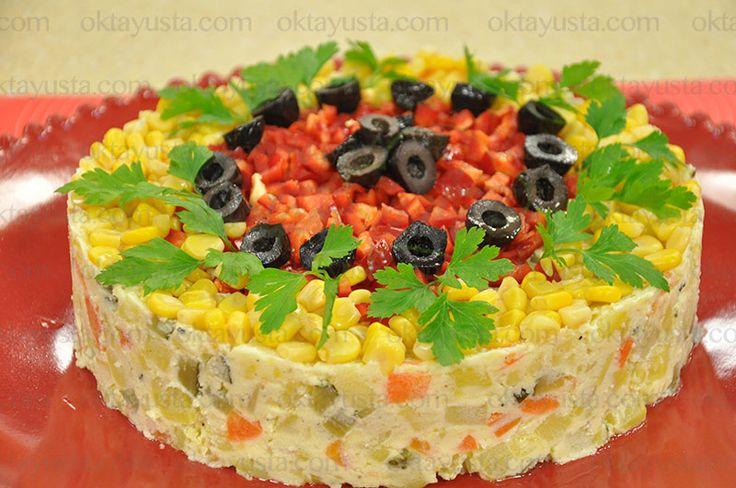 Garnitürlü Patates Salatası | Oktay Usta [ Resmi Web Sitesi ]