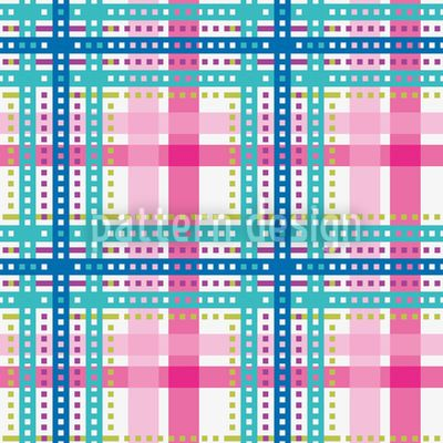 Bright Tartan by Figen Topbas Fukara available for download on patterndesigns.com