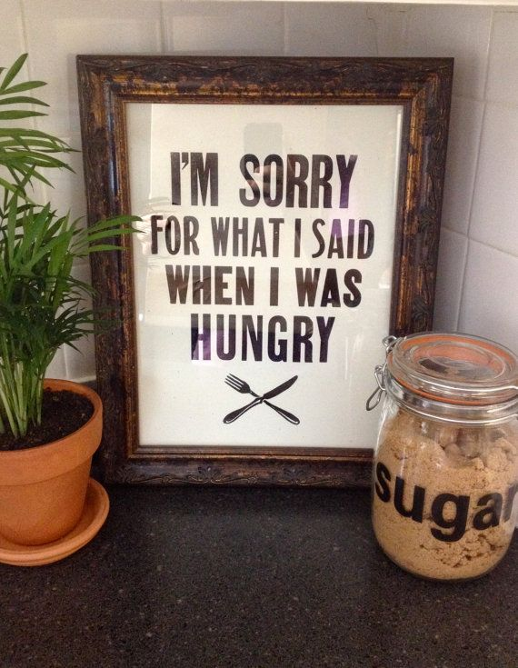Letterpress Handmade Print I'm sorry for what I by RunawayPress