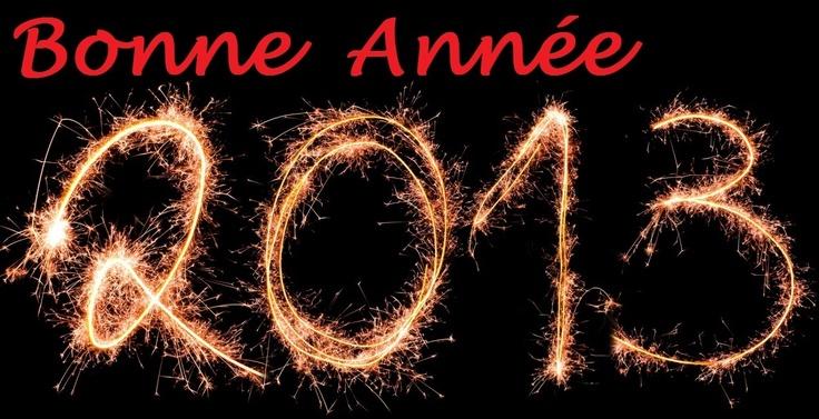 Meilleurs voeux pour 2013 !