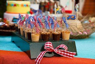 Festa Junina (doce de leite + brigadeiro)