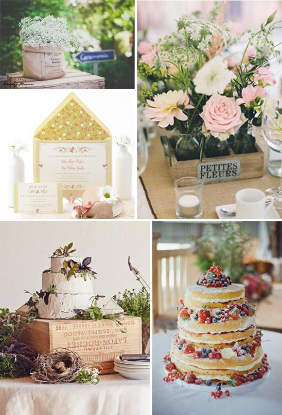 Ideas bodas campestres fiestas pinterest tags ideas - Decoracion boda vintage ...