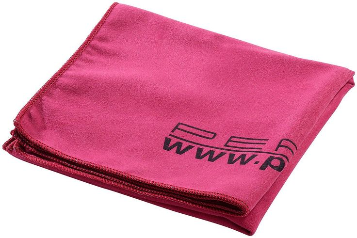 PEARL Extra saugfähiges Mikrofaser-Handtuch 80 x 40 cm, rot: Amazon.de: Küche & Haushalt