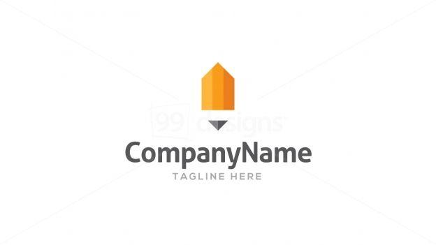 Pencil Logo — Ready-made Logo Designs   99designs