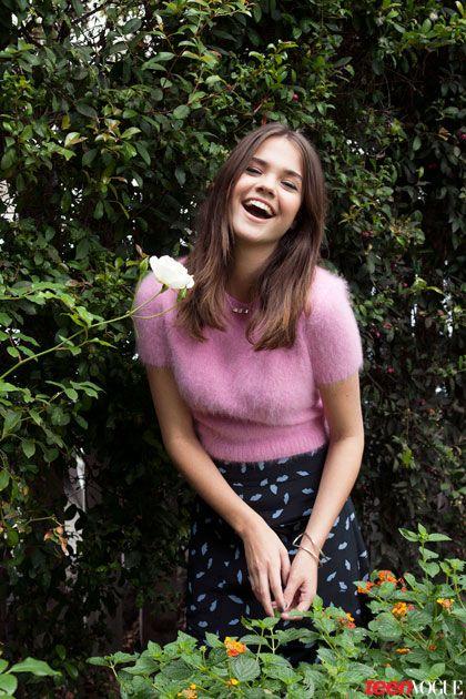 Maia Mitchell Teen Vogue