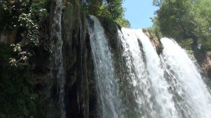 (HD) antalya düden şelalesi / waterfalls antalya turkey 1