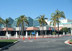 """The Santa Clara Convention Center in July 2007. The first European to visit the valley was José Francisco Ortega in 1769. He found the area inhabited by Native Americans, whom the Spanish called the Costanos, """"coast people"""", later known as the Ohlone. The Spanish began to colonize California with 21 missions and the Mission Santa Clara de Asis was founded in 1777."""