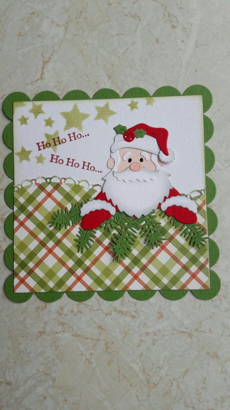 51 best handmade cards plaid images on pinterest handmade cottage cutz santa peeker handmade cardscard makingchristmas kristyandbryce Gallery