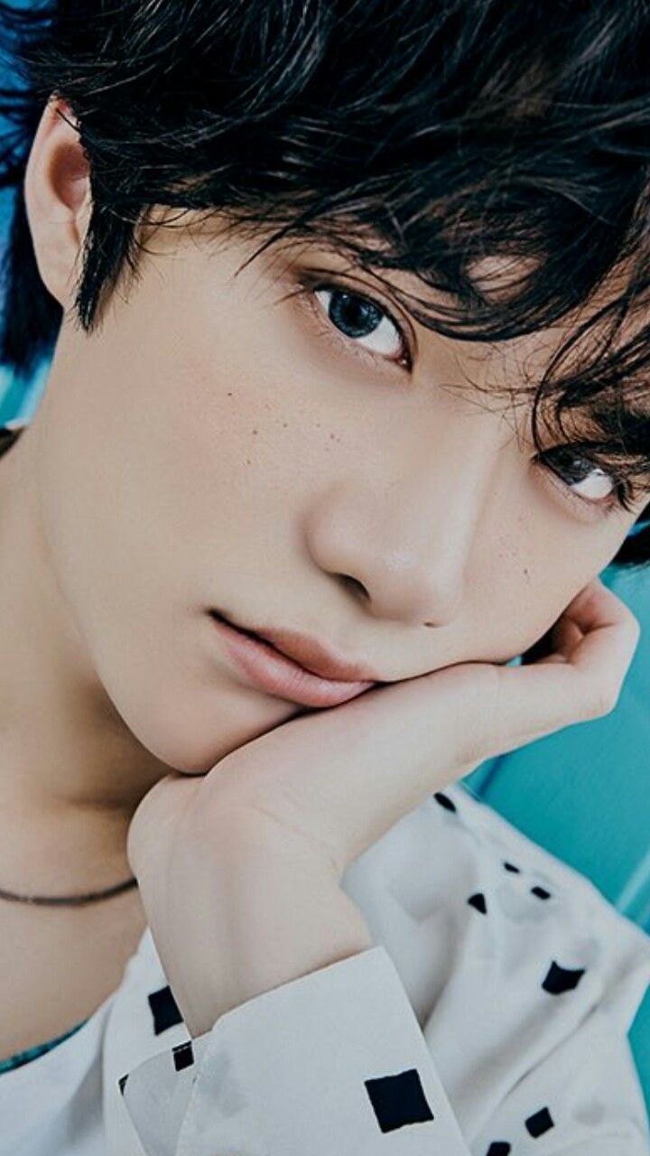 Beomgyu With Freckles Concept Photo Ar Version Txt Blue Hour Photo