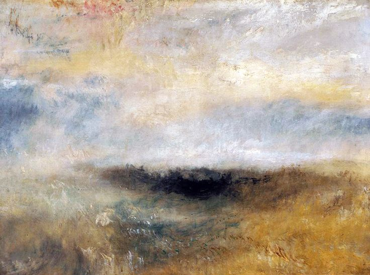SEASCAPE WITH STORM COMING ON. 1840 c.- oil on canvas. 91,5 × 121,5 cm. London. Clore Gallery for the Turner Collection. Inv. No. 4445.