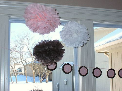 The Sweet Life: Homemade Baby Shower Decorations