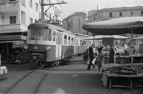 Piazza dei Mirti 1980 Centocelle