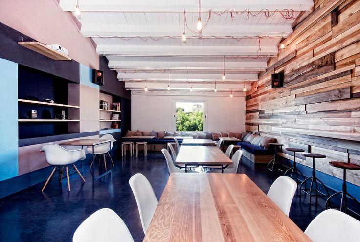 17 migliori idee su design per interni ristorante su for Design di interni a due livelli