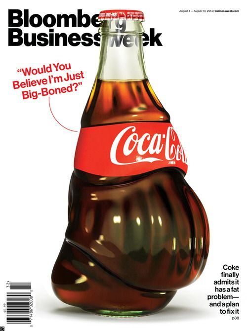 Designersgotoheaven.com - Bloomberg Businessweek cover by Justin Metz.