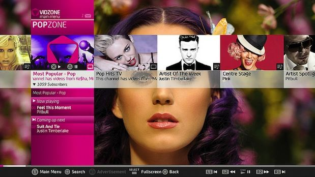 Vidzone music video streaming app comes to PlayStation 3 users in the US