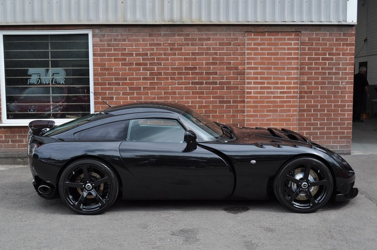 TVR Sagaris one day......