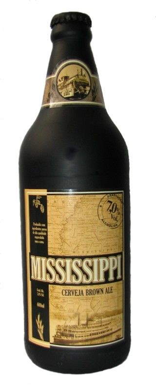 Cerveja Mississippi, estilo American Brown Ale, produzida por Mistura Clássica, Brasil. 7% ABV de álcool.                                                                                                                                                                                 Mais