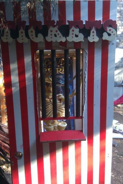.Circus Theme, Stands Props, 615 Size, Carnivals Ticket, Halloween Scary Carnival, Carnevil 2011, Clowns Scary Decor, Party'S Carnivale Circus, Circus Entrance