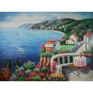 La Villa Di Statisti Oil Painting  www.overarts.com