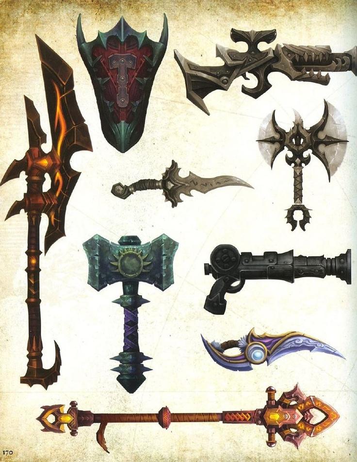 Concept Art & Game Design § Find more artworks…