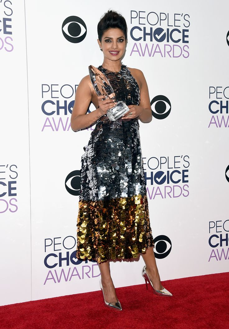 This Is The Most Important Photo Of Priyanka Chopra At The People's Choice Awards