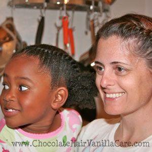 Chocolate Hair Vanilla Care  Advice for Parents Intimidated by Kinky Hair