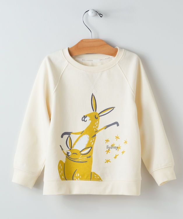 Personalized Infants Pullover Kangaroo
