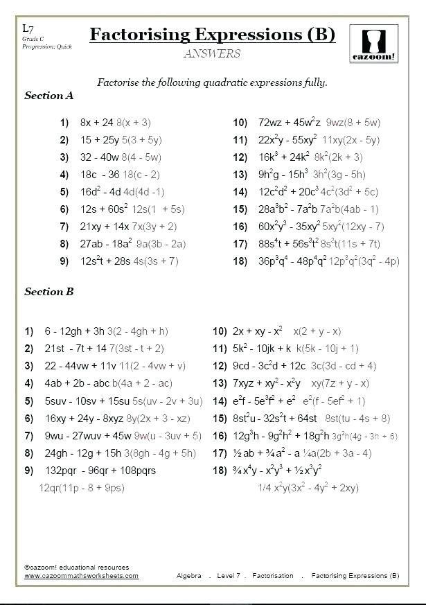 Evaluating Algebraic Expressions Grade 8 Math Worksheets Algebra Algebra Worksheets Special Education Algebra 8th Grade Math Worksheets