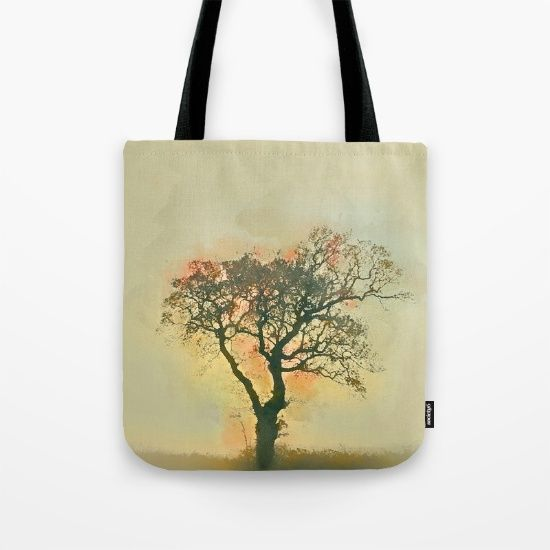 Watercolor tree Tote Bag by JKdizajn - $22.00
