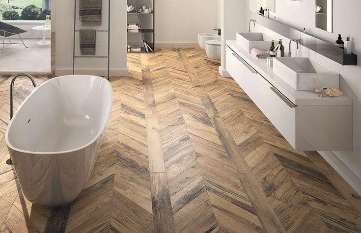 Emil Ceramica Płytka drewnopodobna w łazience