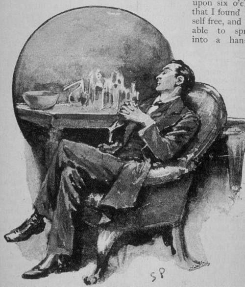 Sidney Paget illustration - Sherlock Holmes