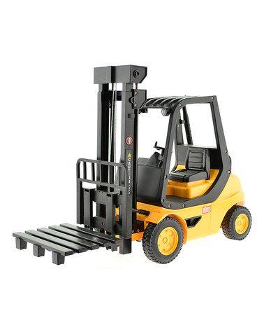 Look at this #zulilyfind! Remote Control Engineering Forklift #zulilyfinds