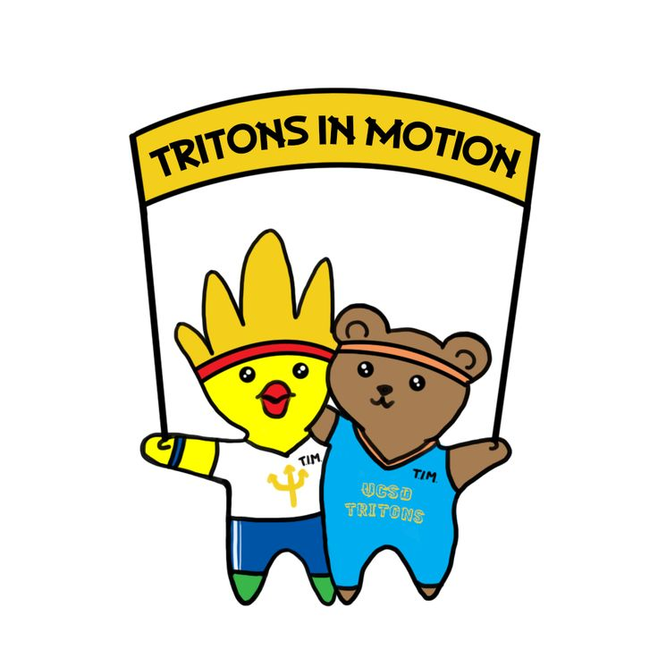 Tritons in Motion is a new FREE program that can help you be more physically active while meeting new friends. If you choose to participate, Tritons in Motion (TIM) will match you with other UCSD students who share the same activity interests! For more information click on the picture!