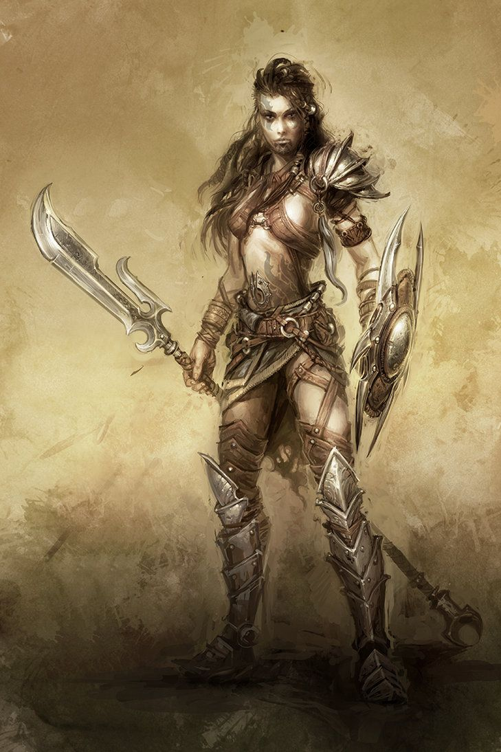 Fantasy female warriors names
