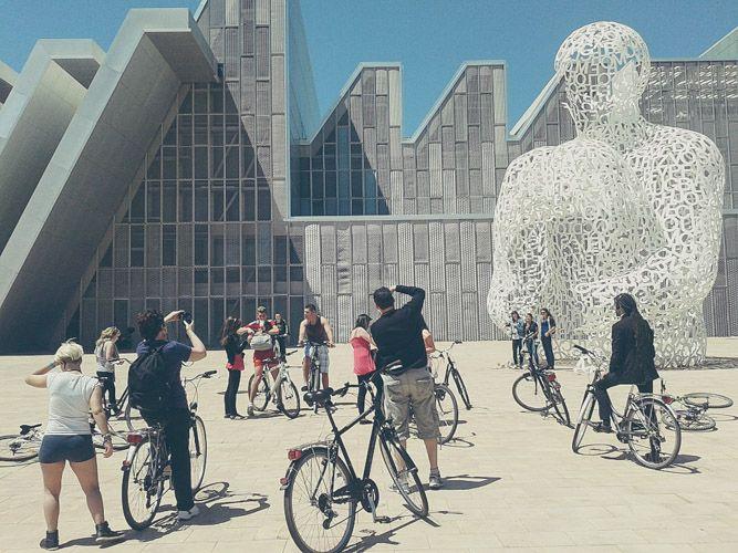 donde aparcar la bicicleta en Zaragoza Centro