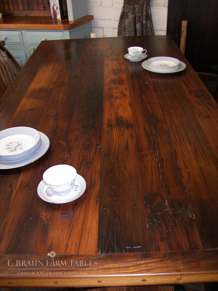 Chestnut table top - 2