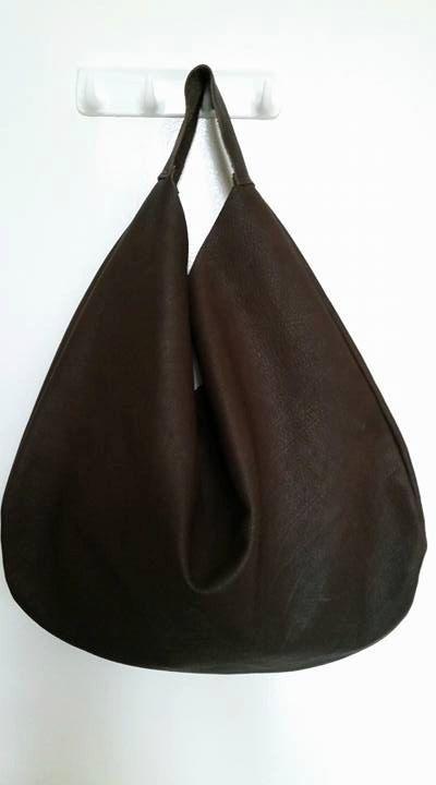 Borsa pochette in pelle borsa donna Hobo bag borsa di ChantaDesign