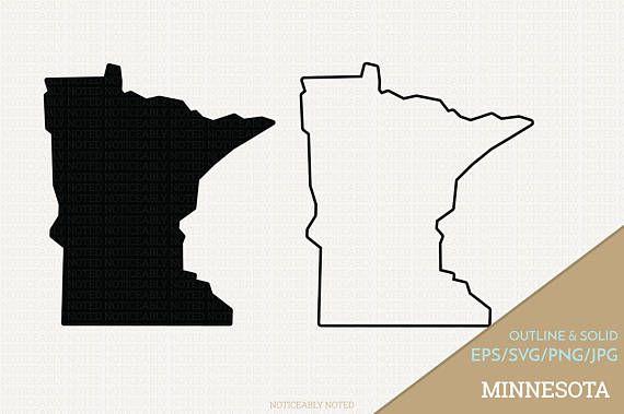 Pin By Kristen Knox On Circut Ideas Minnesota Outline Clip Art Minnesota