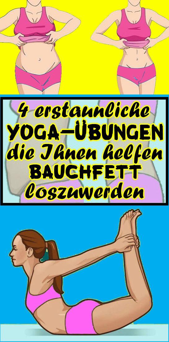 4 erstaunliche Yoga-Übungen, die Ihnen helfen, Bauchfett loszuwerden