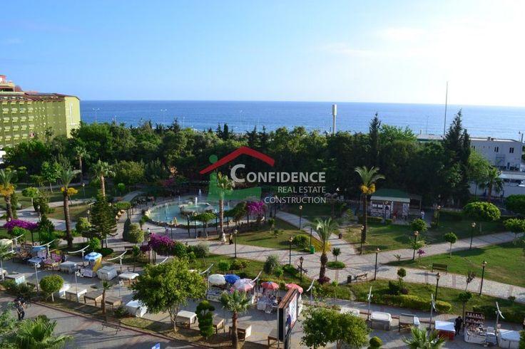 Просторная квартира в самом центре Махмутлара на проспекте Барбарос полностью укомплектованные апартаменты с панорамой на море, город и центральный парк. -#Махмутлар Недвижимость - #Алания #Недвижимость - #Анталия - #Турция