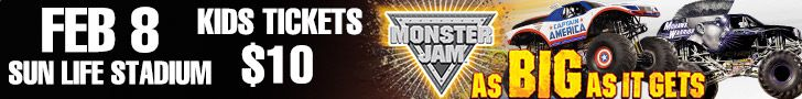 Monster Jam at Sun Life Stadium @MonsterJame #miami
