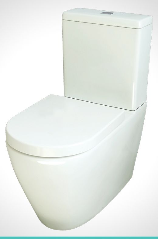 Mondella Concerto vitreous China back to wall toilet suite