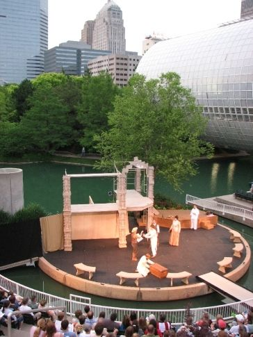 Oklahoma Shakespeare in the Park is a summer tradition with fantastic performances of the works of England's most famous playwright at the Myriad Botanical Gardens in Oklahoma City.