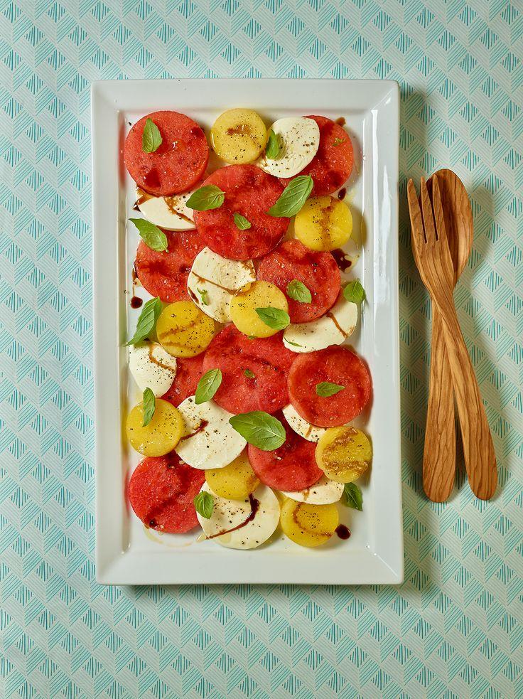 Watermelon Board   Watermelon Caprese Salad