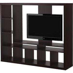 IKEA EXPEDIT TV storage unit, black-brown
