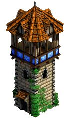 wooden guard tower medieval - Google Search